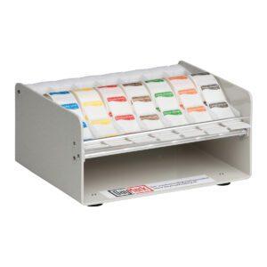 Muurdispenser plastic voor 19/25 mm stickers