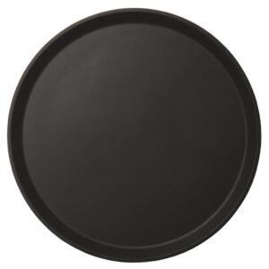 Cambro rond dienblad anti-slip zwart 45 cm