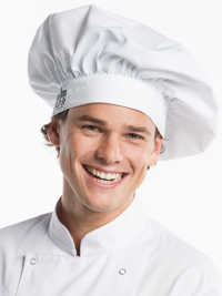 Chef Hat Bianco Hoofddeksel