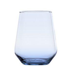 Waterglas Allegra blauw 430 ml