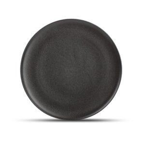 Plat bord 27cm rond Black Dusk