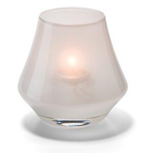 Conische lamp glas wit mat 5 x 9 cm