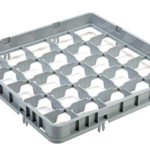 Vaatwaskorf verhoger 25 compartimenten max Ø8.7 cm