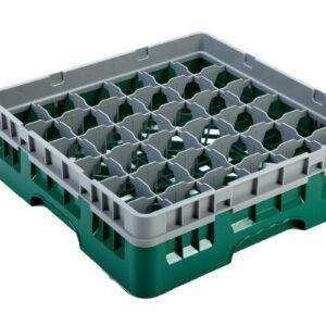 Vaatwaskorf groen 36 compartimenten max Ø7.2 cm