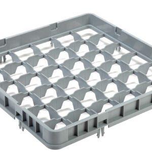 Vaatwaskorf verhoger 36 compartimenten max Ø7.2 cm