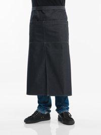 4-Pockets Black Denim Sloof