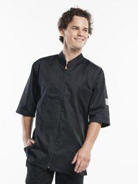 Monza Black Short Sleeve Koksbuis