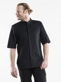 Salerno SFX Black Short Sleeve Koksbuis