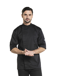 Bacio Black Short Sleeve Koksbuis