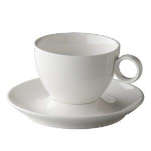Coffeepoint latte / cappuccino kop bolvormig 300ml
