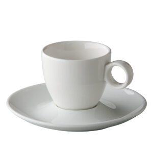 Coffeepoint espressokop bolvormig 80 ml