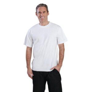 Unisex T-shirt wit XL