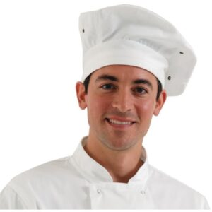 Chef Works koksmuts wit