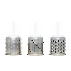 3-delige roterende raspenset voor KitchenAid mixer 5KMVSA (F