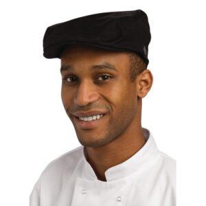 Chef Works stijlvolle pet zwart M