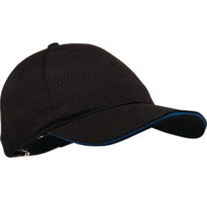 Chef Works Cool Vent baseball cap zwart en blauw