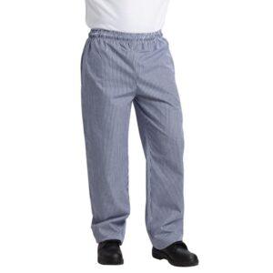 Whites Vegas koksbroek blauw-wit geruit XL