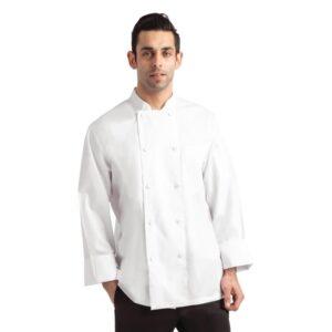 Chef Works Calgary Cool Vent unisex koksbuis wit XS