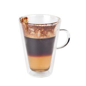 Macchiato-/theeglas dubbelwandig 280 ml