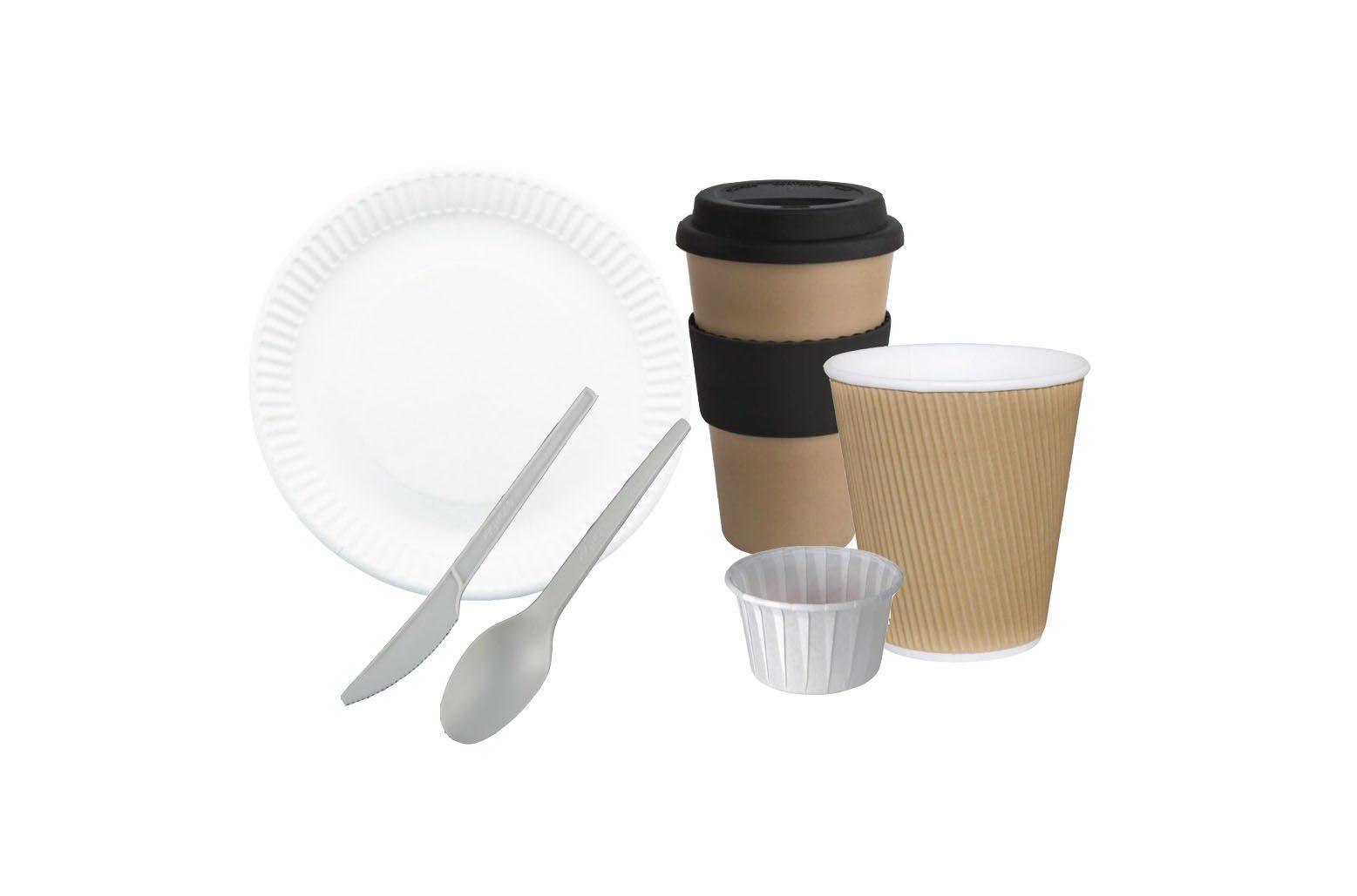 Borden bestek & koffiebekers