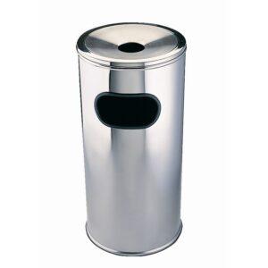 Bolero afvalbak met asbak klein