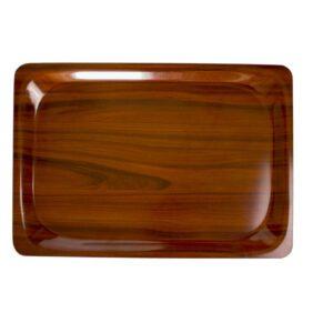 Cambro rechthoekig dienblad walnoot 32,5 x 53 cm