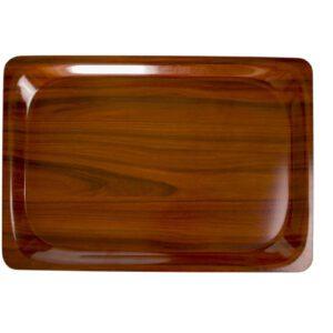 Cambro rechthoekig dienblad walnoot 33 x 43 cm