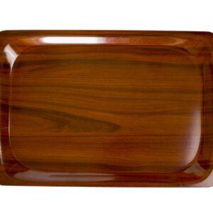 Cambro rechthoekig dienblad walnoot 34 x46 cm
