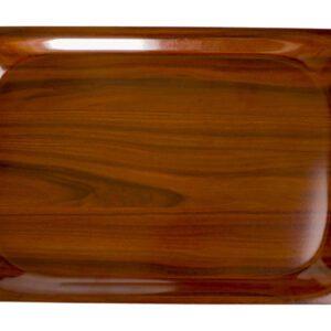 Cambro rechthoekig dienblad walnoot 36 x 46 cm