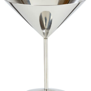 RVS martini glas hoge voet 520 ml