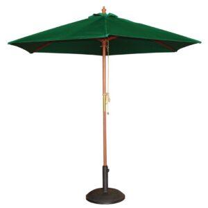 Bolero ronde parasol groen 2,5 meter
