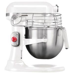 KitchenAid professionele mixer wit 6,9L