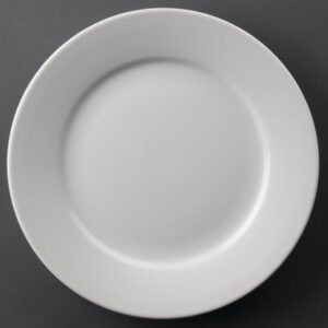 Athena Hotelware borden met brede rand 22,8cm