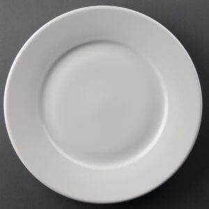 Athena Hotelware borden met brede rand 25,4cm