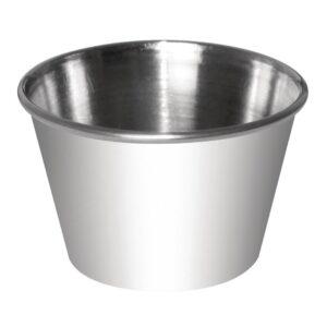 Sauce Cup St/St – 8oz (Box 12)