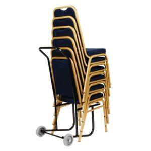 Bolero trolley voor stapelstoelen