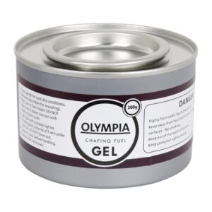 Olympia brandpasta gel 200g (12 stuks)