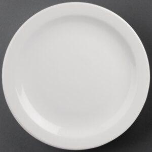 Athena Hotelware borden met smalle rand 28,4cm