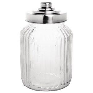 Olympia geribbelde glazen conservenpot 90cl