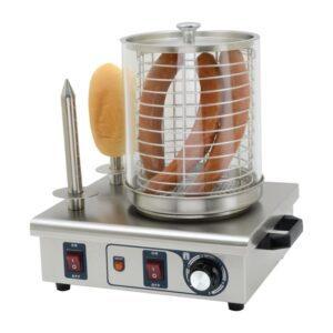 Buffalo hotdogwarmer met 2 warmhoudpennen
