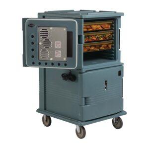 Cambro elektrische verwarmde geïsoleerde transportwagen 114L