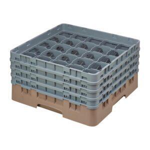 Cambro Camrack vaatwaskorf met 25 compartimenten max. glasho