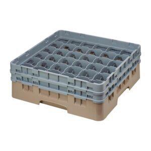 Cambro Camrack vaatwaskorf met 36 compartimenten max. glasho