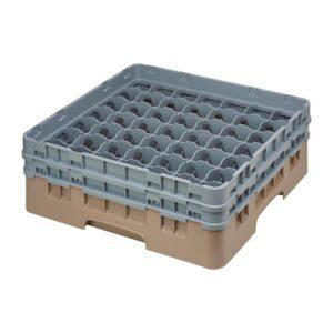 Cambro Camrack vaatwaskorf met 49 compartimenten max. glasho