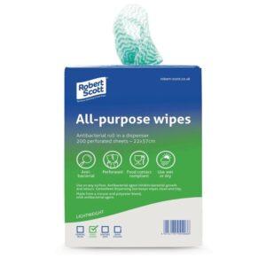 Desinfecterende reinigingsdoekjes groen (200 stuks)