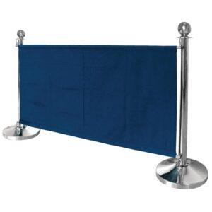 Bolero canvas afzetdoek donkerblauw