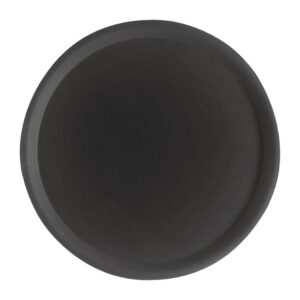 Cambro Camtread rond antislip glasvezel dienblad zwart 28cm