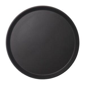 Cambro Camtread rond antislip glasvezel dienblad zwart 35,5c