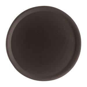 Cambro Camtread rond antislip glasvezel dienblad zwart 40,5c