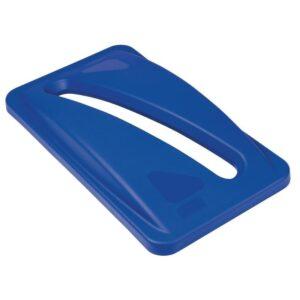Rubbermaid Slim Jim deksel blauw